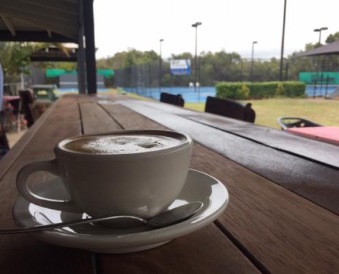 Noosa tennis cafe
