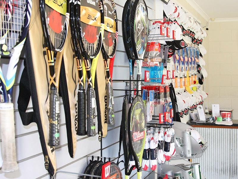 Noosa tennis pro shop